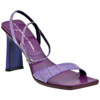 Schuhe Damen Sandalen / Sandaletten Giancarlo Paoli 3302 Heel 90 sandale Violett