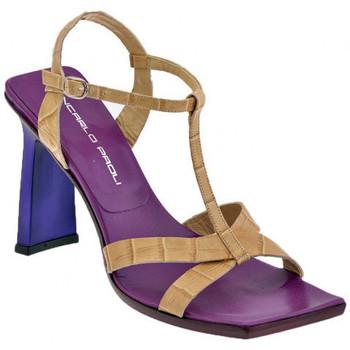 Schuhe Damen Sandalen / Sandaletten Giancarlo Paoli Heel 3305 110 sandale Beige
