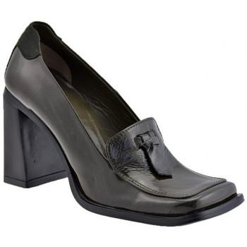 Schuhe Damen Slipper Giancarlo Paoli Dora Heel 2 95 mokassin halbschuhe Grün