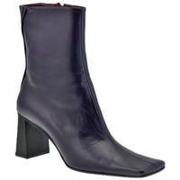 Schuhe Damen Low Boots Giancarlo Paoli Epische Heel Ankle Boots 70 halbstiefel Violett