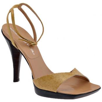 Schuhe Damen Sandalen / Sandaletten Giancarlo Paoli Felix Heel 120 sandale Beige