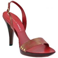 Schuhe Damen Sandalen / Sandaletten Giancarlo Paoli Osler Heel 120 sandale Rot