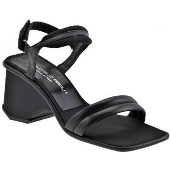 Schuhe Damen Sandalen / Sandaletten Giancarlo Paoli Keil Plata 70 sandale Schwarz