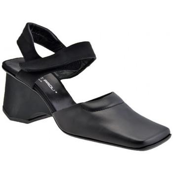 Schuhe Damen Sandalen / Sandaletten Giancarlo Paoli Königliche Wedge 70 sandale Schwarz