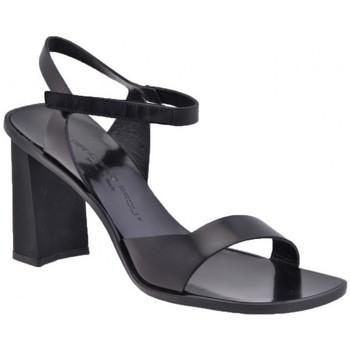 Schuhe Damen Sandalen / Sandaletten Giancarlo Paoli Baltim Heel 90 sandale Schwarz