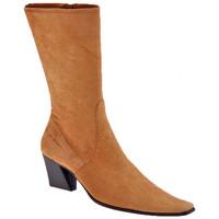 Schuhe Damen Low Boots Giancarlo Paoli T.60-Buchse halbstiefel Braun