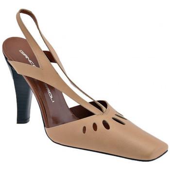 Schuhe Damen Sandalen / Sandaletten Giancarlo Paoli Caribe Heel 100 sandale Beige