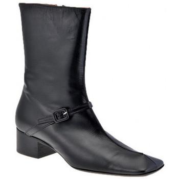 Schuhe Damen Low Boots Giancarlo Paoli T.20-Buchse halbstiefel Schwarz