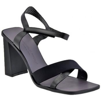 Schuhe Damen Sandalen / Sandaletten Giancarlo Paoli Domingo Heel 90 sandale Schwarz