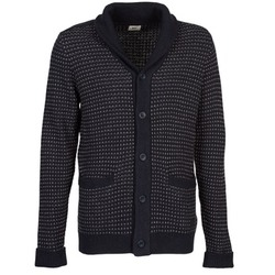 Kleidung Herren Strickjacken Lee SHAWL CARDIGAN Blau