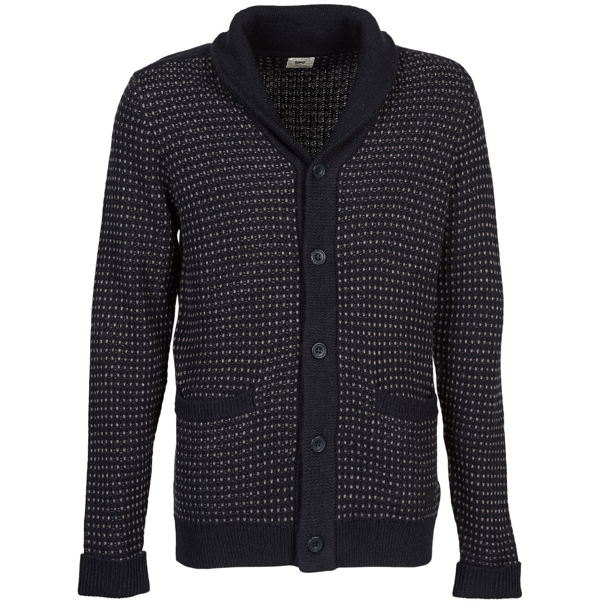 Lee SHAWL CARDIGAN Blau