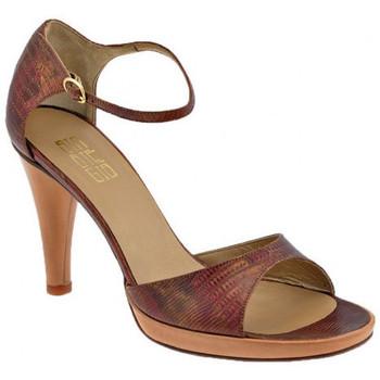 Schuhe Damen Sandalen / Sandaletten Strategia Strap Heel Plateau 100 sandale