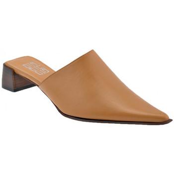 Schuhe Damen Pantoletten / Clogs Strategia Heelmarschierten35sabot Braun