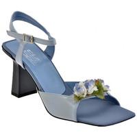 Schuhe Damen Sandalen / Sandaletten Strategia Blumen-Heel 70 sandale