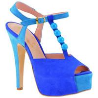 Schuhe Damen Pumps Cuomo HeelSandale140hoeheAbsatzhoeheAbsatz hoehe Absatz Blau