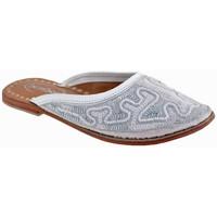 Schuhe Kinder Pantoletten / Clogs Bamboo Ethnischsabot Weiss