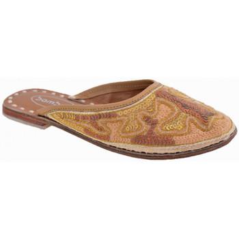 Schuhe Kinder Pantoletten / Clogs Bamboo Ethnischsabot Gold