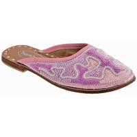 Schuhe Kinder Pantoletten / Clogs Bamboo Ethnischsabot Rose