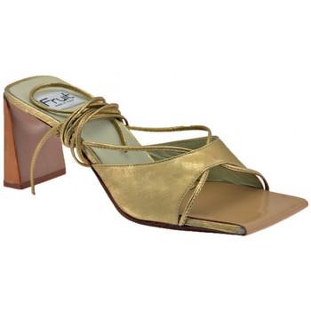 Schuhe Damen Pantoffel Fru.it Slave Heel 80 pantoletten hausschuhe
