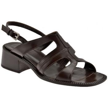 Schuhe Damen Sandalen / Sandaletten Now StrapHeel30sandale Braun