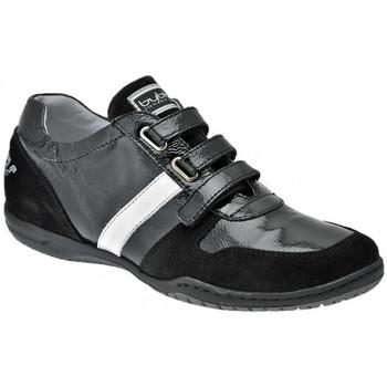 Schuhe Damen Sneaker High Byblos Blu LässigeSneakersKlettsneakers Schwarz