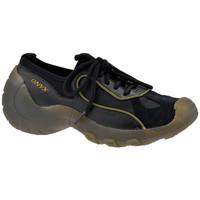 Schuhe Damen Sneaker Low Onyx Drag turnschuhe Schwarz