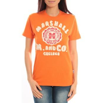 Kleidung Damen T-Shirts Sweet Company T-shirt Marshall Original M and Co 2346 Orange Orange