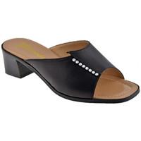 Schuhe Damen Pantoffel Susimoda Strass-Stirnband pantoletten hausschuhe