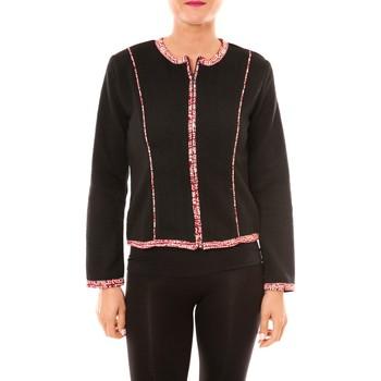 Kleidung Damen Jacken / Blazers Bamboo's Fashion Veste BW667 noir Schwarz