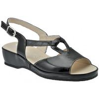 Schuhe Damen Sandalen / Sandaletten Susimoda Anatomischsandale Schwarz