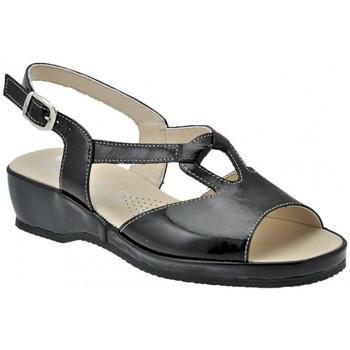 Schuhe Damen Sandalen / Sandaletten Susimoda Anatomisch sandale Schwarz