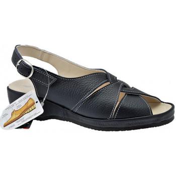 Schuhe Damen Sandalen / Sandaletten Susimoda AnatomischeKaliforniensandale Blau