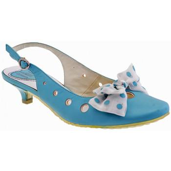 Schuhe Damen Sandalen / Sandaletten Dalè Bogensandale Blau