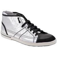 Schuhe Herren Sneaker High OXS PolkLässigesportstiefel Silbern