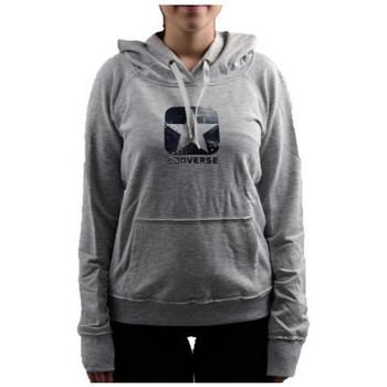 Kleidung Damen Sweatshirts Converse LogoBorchiatosweatshirt Grau