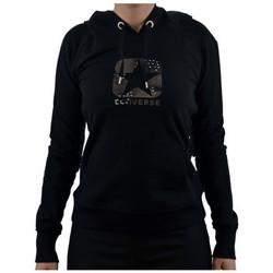 Kleidung Damen Sweatshirts Converse LogoBorchiatosweatshirt Schwarz