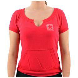 Kleidung Damen T-Shirts Converse Corta t-shirt Rose