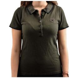 Kleidung Damen Polohemden Converse Short polohemd