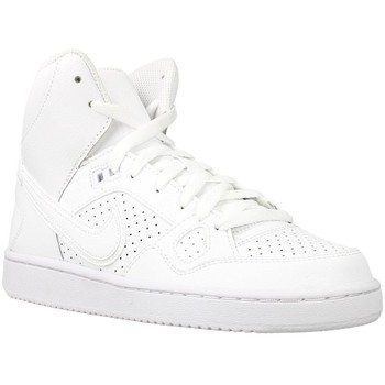 Schuhe Kinder Sneaker High Nike Son OF Force Mid GS Weiß