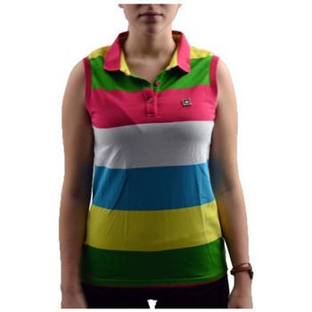 Kleidung Damen Polohemden Converse Smanicata polohemd Multicolor