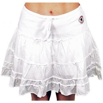 Kleidung Damen Shorts / Bermudas Converse Minigonna shorts Weiss