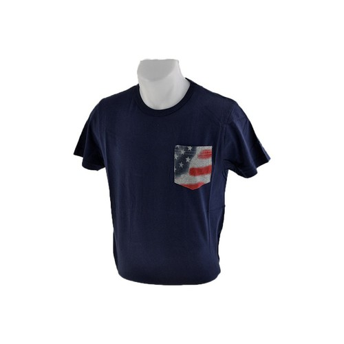 Kleidung Herren T-Shirts Converse Pocket-USA-Flagge t-shirt