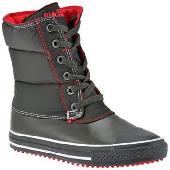 Schuhe Damen Low Boots Converse Slushinehalbstiefel Schwarz