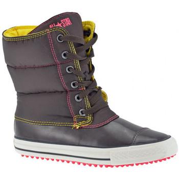 Schuhe Damen Low Boots Converse Slushinehalbstiefel Braun