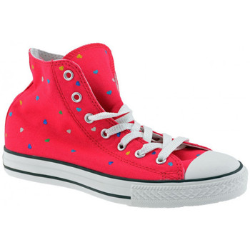 Schuhe Kinder Sneaker High Converse CT AS Modell Leinwand sportstiefel Rose