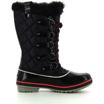 Schuhe Damen Schneestiefel Sorel Tofino Black