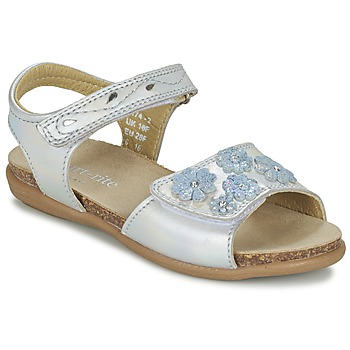 Schuhe Mädchen Sandalen / Sandaletten Start Rite SUMMERS DAY Silbern