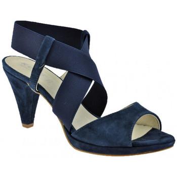 Schuhe Damen Sandalen / Sandaletten Keys HeelPlateau80sandale Blau