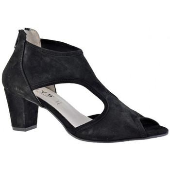 Schuhe Damen Pumps Keys RearHingehoeheAbsatzhoeheAbsatzhoeheAbsatz hoehe Absatz Schwarz