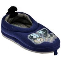 Schuhe Kinder Pantoffel De Fonseca Decina Kid pantoletten hausschuhe Blau